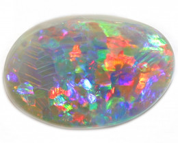 2.2CT SEMI Black Opal Stone [CS117]