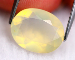 Fire Opal 3.08Ct Natural Faceted Mexican Orange Fire Opal F0203