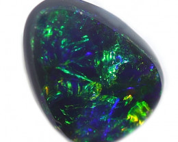 1.4CT BLACK OPAL STONE LIGHTNING RIDGE [CS121]