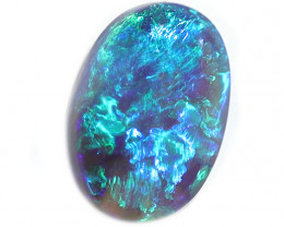 2.1CT BLACK OPAL STONE LIGHTNING RIDGE [CS124]