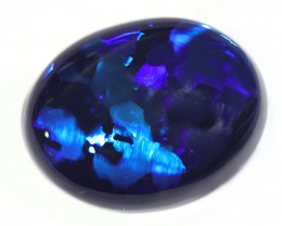 11.3CTS  BLACK OPAL STONE LIGHTNING RIDGE [CS128]