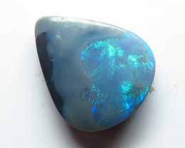 3.78ct Lightning Ridge Semi Black Opal stone