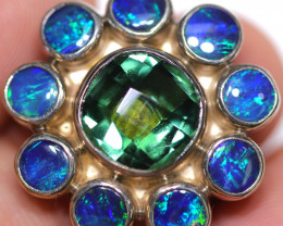 6 RING SIZE  DOUBLETS + GREEN AMETHYST FACTORY2 [SOJ1924]