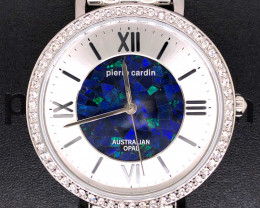 Original Ladies Silver Opal Watch Mosiac Opal - WO 16