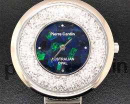 Original Ladies Silver  Opal Watch Mosiac Opal - WO 17