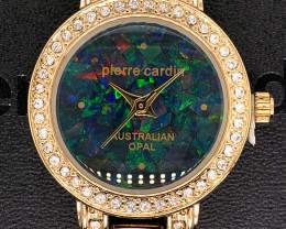 Original Ladies Gold Opal Watch Mosiac Opal - WO 23