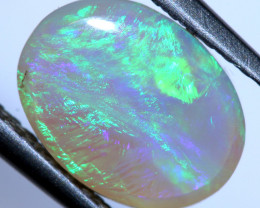 1.35 CTS  WHITE OPAL POLISHED CUT STONE  TBO-10112
