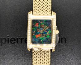 Original Ladies Gold Opal Watch Mosaic Opal - WO 25