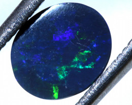 N 1-   1.20 CTS   BLACK OPAL  POLISHED STONE  L. RIDGE TBO-10126