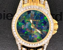 Original Ladies Gold Opal Watch Mosaic Opal - WO 28