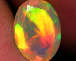 3.10 CT Broadflash!! AAA Quality Faceted Cut Ethiopian Opal -DF232
