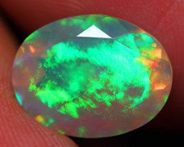 3.30 CT 13X10 MM Extra Fine Quality Faceted Cut Ethiopian Opal -DF233