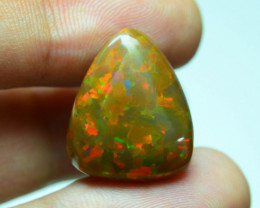 Rainbow Fire 9.19 ct Ethiopian Opal SkU-8