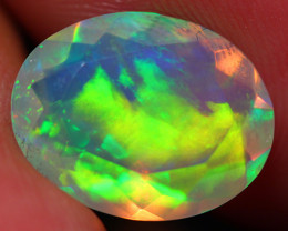 2.36 CT Extra Fine Quality Faceted Cut Ethiopian Opal -DF242
