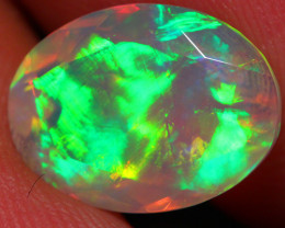 2.40 CT One Of A Kind AAA Quality Faceted Cut Ethiopian Opal -DF247
