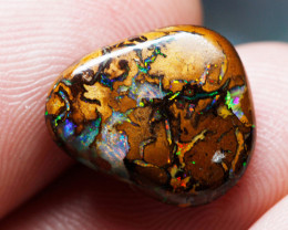 7.1t Koroit Boulder Opal, Natural Australian Solid Opal, Real Opal