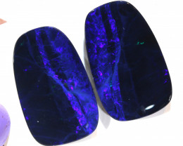 20.69- CTS   OPAL DOUBLET   PAIR LO-5375