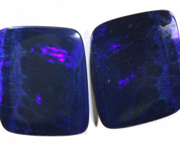 25.26 - CTS   OPAL DOUBLET   PAIR LO-5370