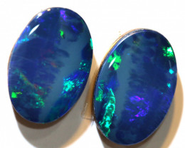 2.66 - CTS   OPAL DOUBLET   PAIR LO-5383