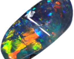 0.86 CTS BOULDER OPAL STONE FROM OLD COLLECTION [BMA8629]