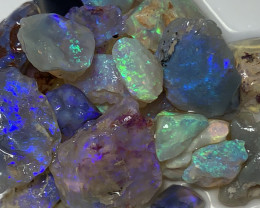 STUNNING CRYSTAL ROUGH; 65 CTs of Lightning Ridge Rough Opal #1572