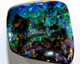 37.30 CTS QUALITY  BOULDER OPAL POLISHED STONE INV-344  GC