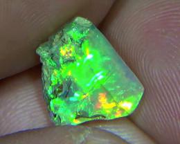 3.25 cts Ethiopian Welo FLASH polished crystal opal N9 4/5