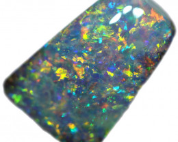 3.52 CTS BOULDER OPAL STONE FROM OLD COLLECTION [BMA8687]