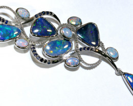 80.30 CTS OPAL SILVER PENDENT OF-2622-OPALSFOREVER