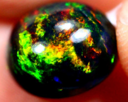 4.05cts Natural Black Smoked Polished Solid Opal / N40
