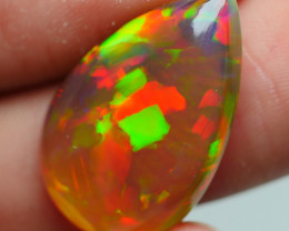 9.05 CRT BEAUTY DARK CRYSTAL FIREWORKS PATTERN WELO OPAL-