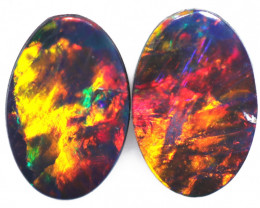 0.68 CTS SMALL GEM QUALITY DOUBLET STONE [SEDA7028]