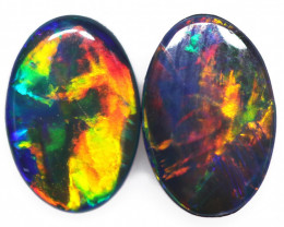 0.71 CTS SMALL GEM QUALITY DOUBLET STONE [SEDA7030]