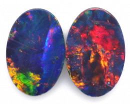 0.64 CTS SMALL GEM QUALITY DOUBLET STONE [SEDA7032]