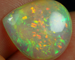 4.90cts Galaxy Fire Pattern Natural Ethiopian Welo Opal