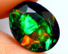 1.48cts Natural Ethiopian Black Welo Opal / FA183