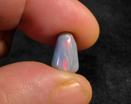 5.00 CTSolid Lightning Ridge Opal with lots of reds.