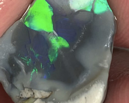 LOVELY ROUGH; 5.9 CTs of Lightning Ridge Rough Opal #1954