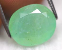 Green Opal 3.40Ct Natural Peruvian Green Color Opal G1211