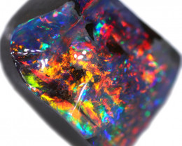 25.44 CTS BOULDER OPAL STONE FROM OLD COLLECTION [BMA8784]