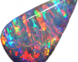 17.66 CTS BOULDER OPAL STONE FROM OLD COLLECTION [BMA8783]tray