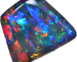 6.87 CTS BOULDER OPAL STONE FROM OLD COLLECTION [BMA8776]