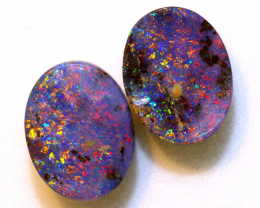 3.05-CTS  BOULDER OPAL  POLISHED  CUT PAIR TBO-10276