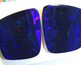 40.94 CTS OPAL DOUBLET STONE PAIR TBO-10281