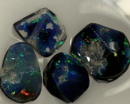 UNFINISHED BLACK RUBS; 7.6 CTs of Lightning Ridge Opal #1980