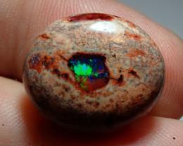 15ct. Mexican Matrix Cantera Multicoloured Fire Opal