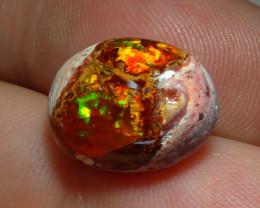 7.4ct. Mexican Matrix Cantera Multicoloured Fire Opal