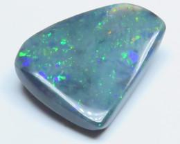5.97ct Lightning Ridge Black  Opal stone