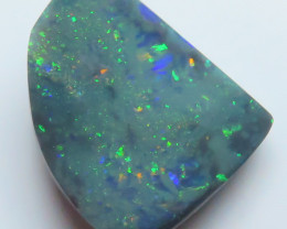 5.97ct Lightning Ridge Black  Opal stone
