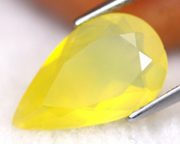 Mexican 2.48Ct Natural Yellow Color Fire Opal G1505
